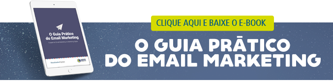 "Baixe o e-book ""O guia prático do e-mail marketing"""